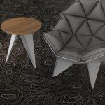 акустични настилки-Sarlon Topography Black